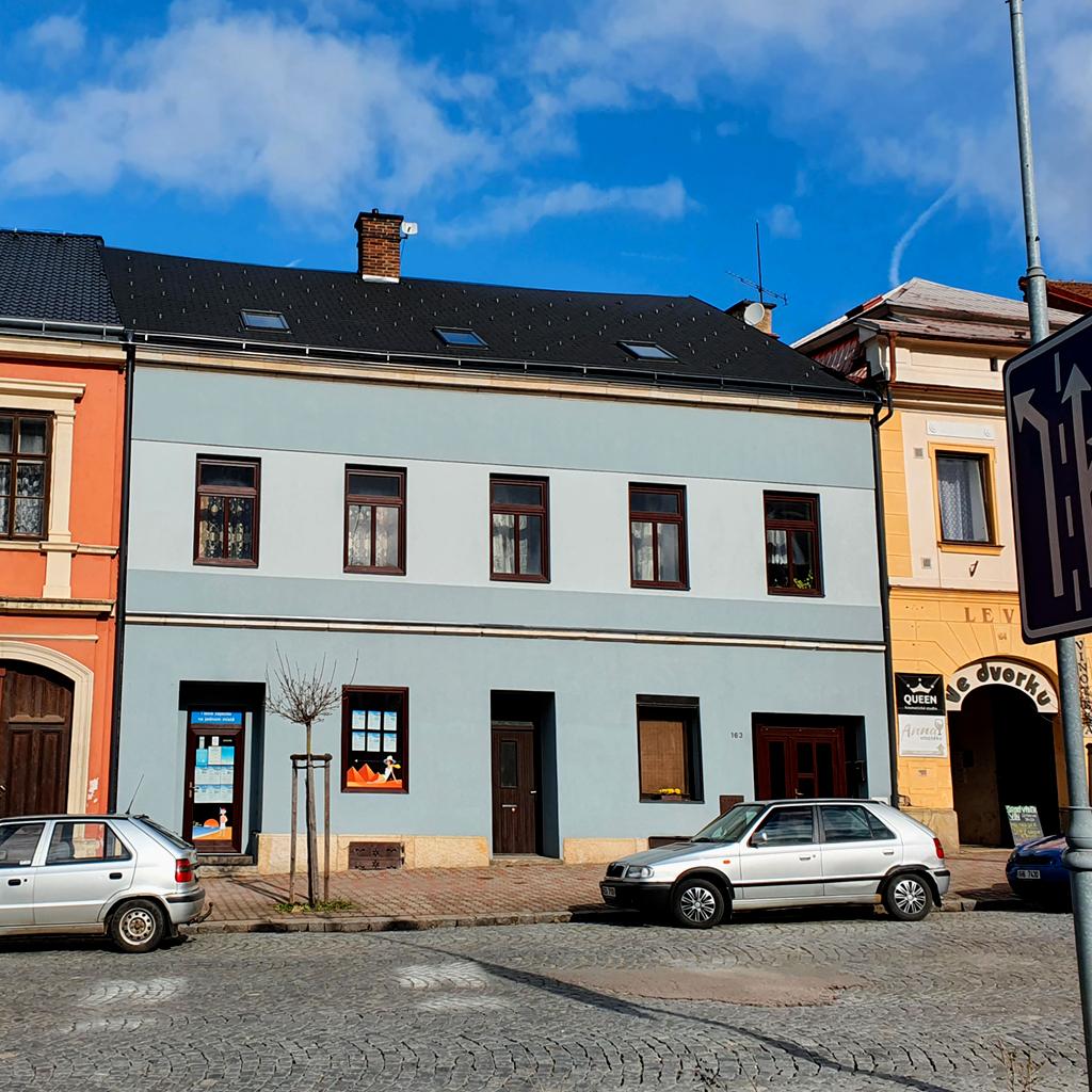 Renovace budovy Invia - Hořice po renovaci